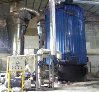Lò dầu tải nhiệt đốt 2 nhiên liệu Than-biogas